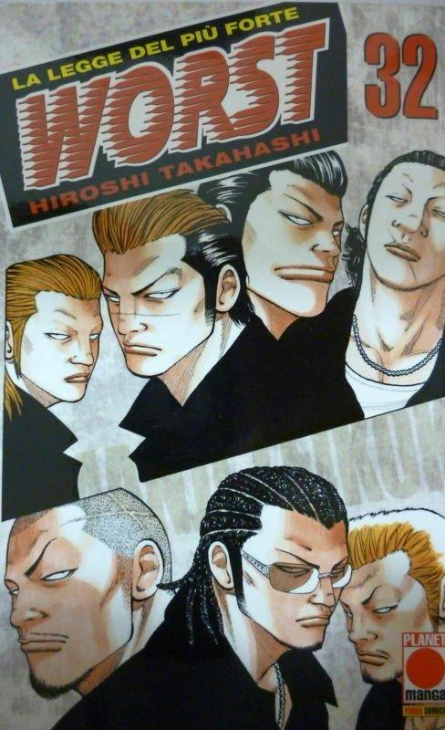 Copertina del n. 32 di Worst, edizione italiana, Planet Manga