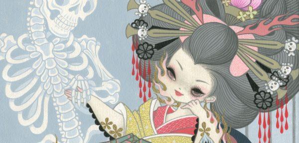 immagine promozionale della mostra su Junko Mizuno al LICAF 2019
