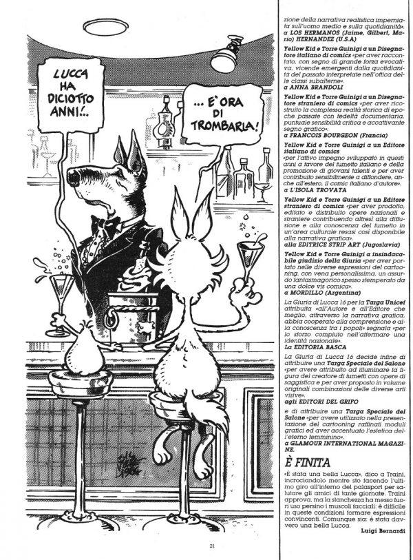 """Lo speciale """"Passeggiate Lucchesi"""" estratto dal n. 27 della rivista Orient Express - pagina 6"""