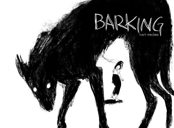 immagine promozionalwdel graphic novel Barking di Lucy Sullivan, che sarà lanciato al LICAF 2019