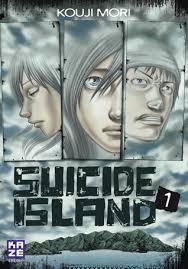 una delle copertina del Manga SUICIDE ISLAND