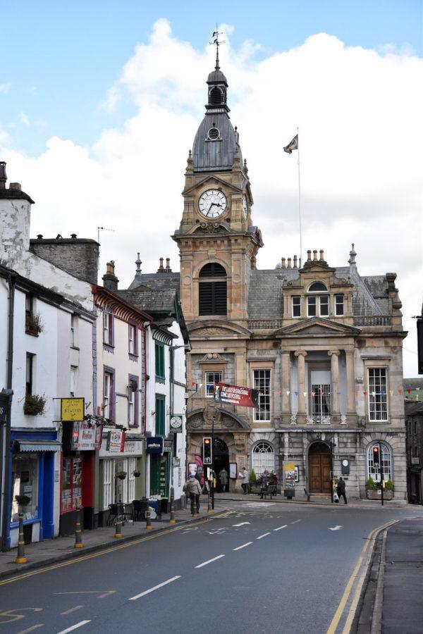 Veduta della Town Hall che per 3 giorni diventa la Comics Clock Tower, lo spazio mercato con autori locali, nazionali ed internazionali, e con vari editori nazionali.