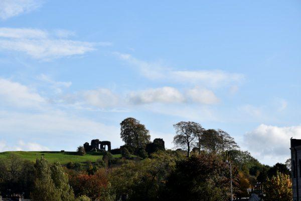 I resti del castello di Kendal