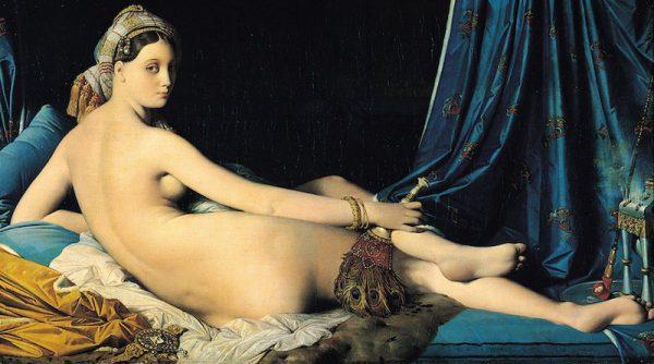 La postura di Billie's pose in questa scena è presa da La grande odalisca (1814) di Jean-Auguste-Dominique Ingres.  Immagine 2 di 23