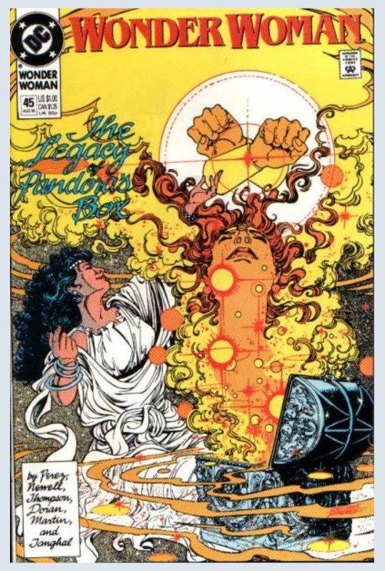 Wonder Woman Vol 2 n.45_agosto 1990, cover