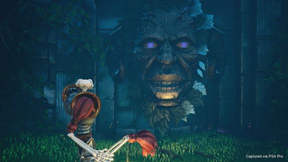 Altra immagine tratta dal remake del videogioco Medievil (2019)