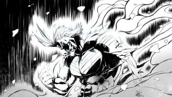 immagine tratta dal manga My Hero Academiaa