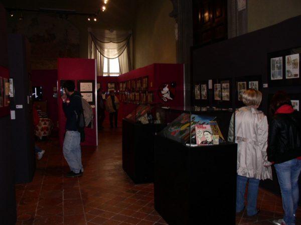 Foto di una parte degli allestimenti, Lucca comics&Game 2009. Foto di Antonio Recupero