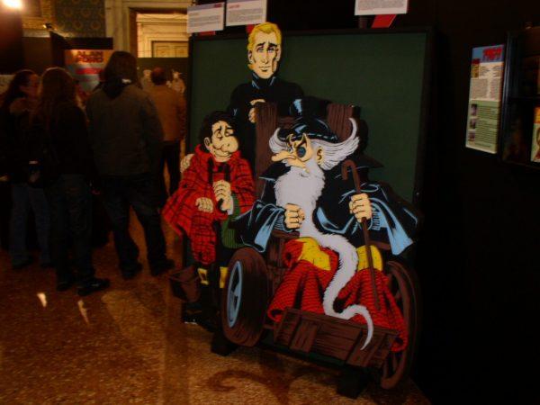 Particolare mostra dedicata ad Alan Ford. Lucca comics&Game 2009. Foto di Antonio Recupero