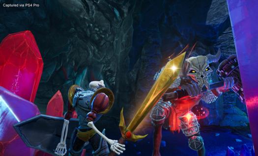 immagine tratta dal remake del videogioco Medievil (2019)