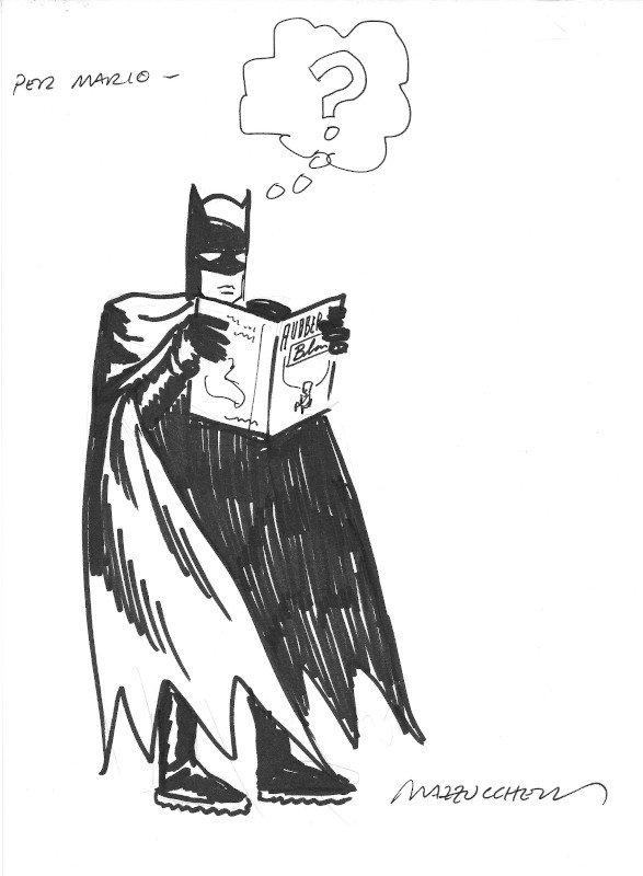 1991_batman di Mazzuchelli al Salone dei comics di Lucca