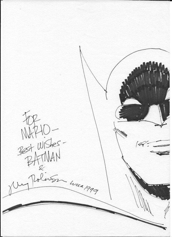 1999_batman james robinson a Lucca Comics &Games