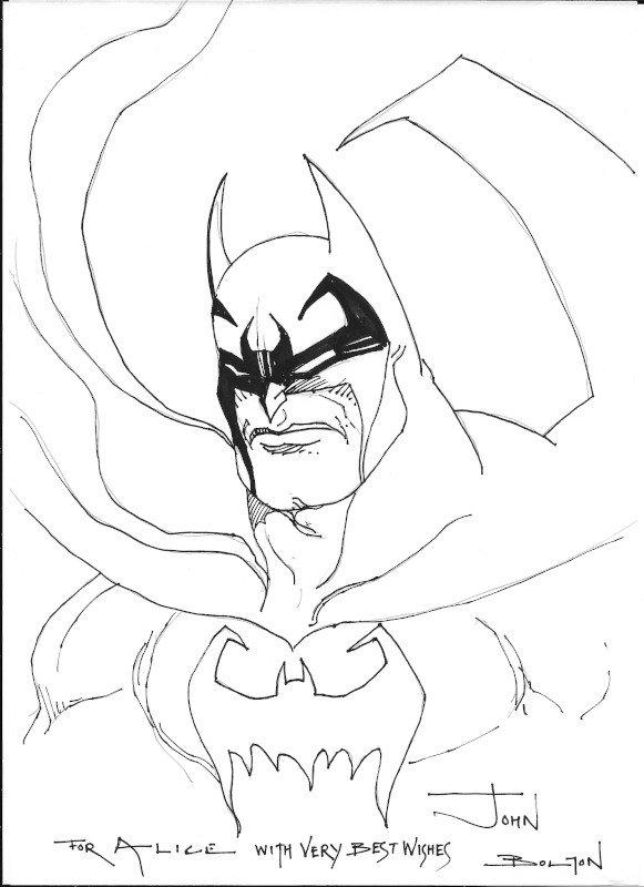 2015_batman 1 john bolton al Palermo Comic Convention