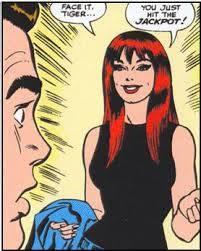 Peter incontra per la prima volta la rossa e pirotecnica Mary Jane Watson. - Amazing Spider-Man 42