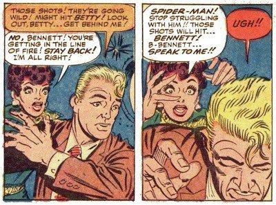 la prima morte nella serie di spider-man tratta da AMAZING 11