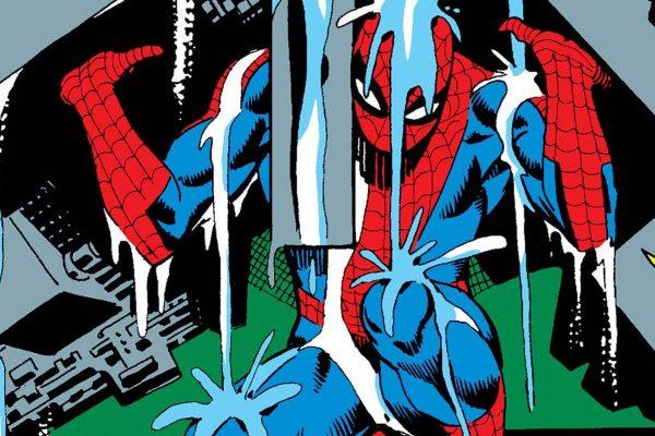 Peter compie uno sforzo oltre persino la sua forza sovrumana e sposta un enorme ostacolo che lo separa da un raro isotopo che può salvare la vita di sua zia May. - Amazing Spider-Man 31