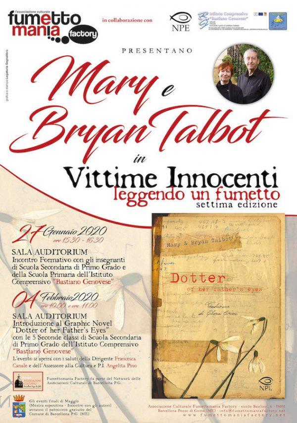 """locandina del progetto """"vittime innocenti, leggendo un fumetto (settima edizione)"""