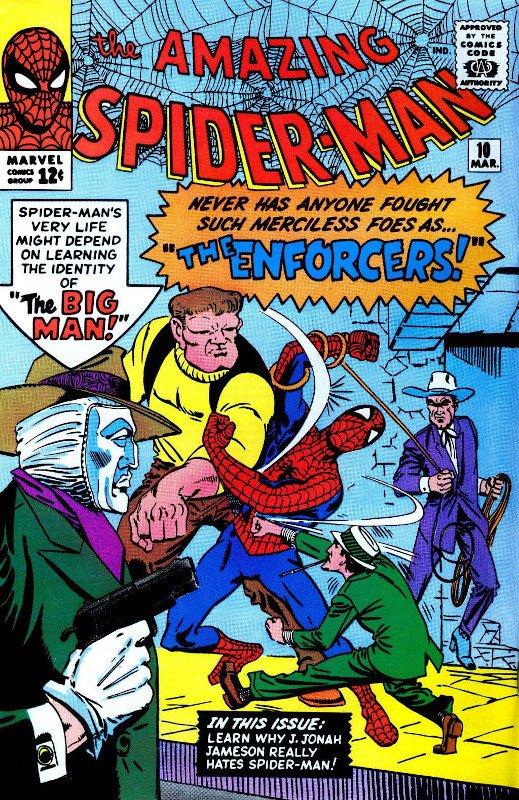 Copertina di Amazing Spider-Man #10, giudicata troppo essenziale nel disegno