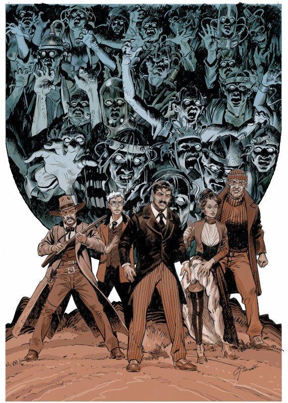 illustrazione originale di Joan Mundet per la copertina variant