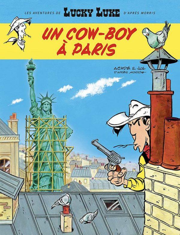 Come ho detto in precedenza, Chance è un omaggio a Lucky Luke. Mentre scrivo queste note (2 novembre 2018) l'80° volume delle sue storie è appena uscito in Francia e parla di: Lucky Luke a Parigi!