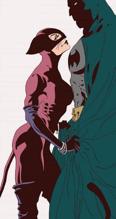 Bat-Man e Selina Kyle alias Catwoman, i cui rapporti con B. sono così intricati e torbidi da sfiorare la psicopatologia