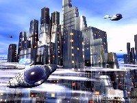 """""""Cybercity"""", Immagine © di Slawek Wojotowixz, utilizzata solo ai fini di tributo artistico"""