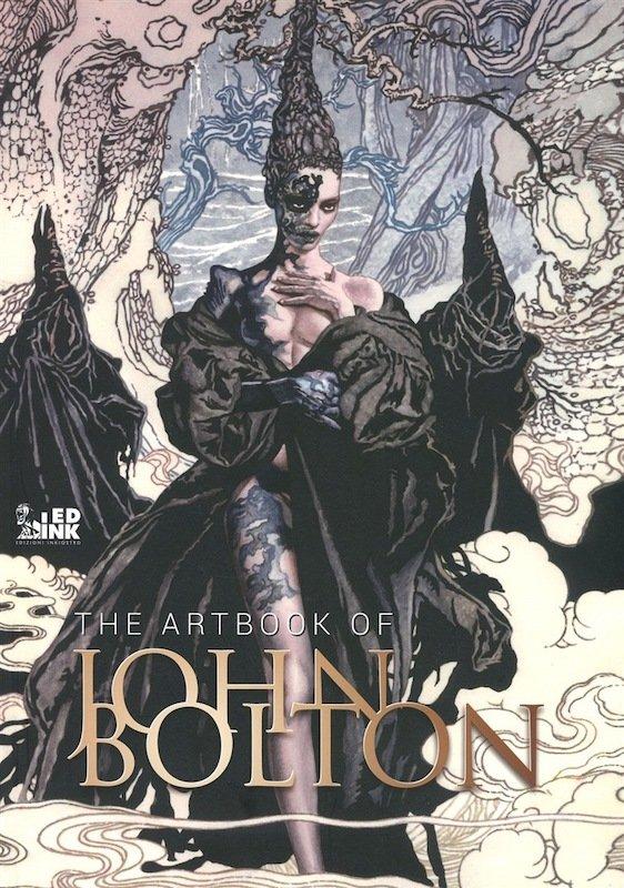 copertina regular  del'Art book di John Bolton, pubblicato da Edizioni Inkiostro.