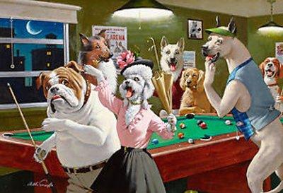 I cani di Arthur Sarnoff tornano dal volume 1, questa volta affiancati da un barboncino femmina, un membro occasionale del suo cast canino.