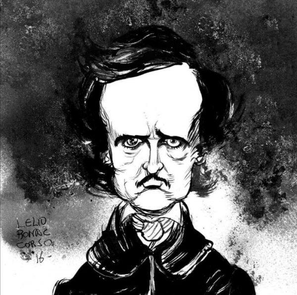 Tributo di Lelio Bonaccorso , dedicato a Edgar A. Poe