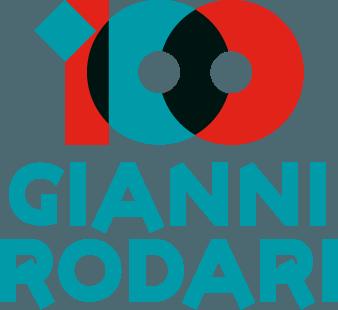 logo ufficiale del centenario dalla nascita di Gianni Rodari