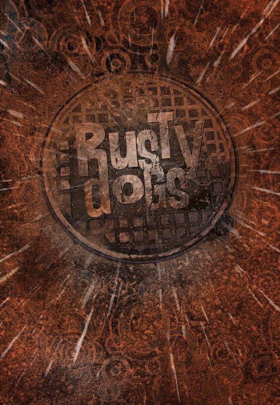 Copertina del volume Rusty Dogs.