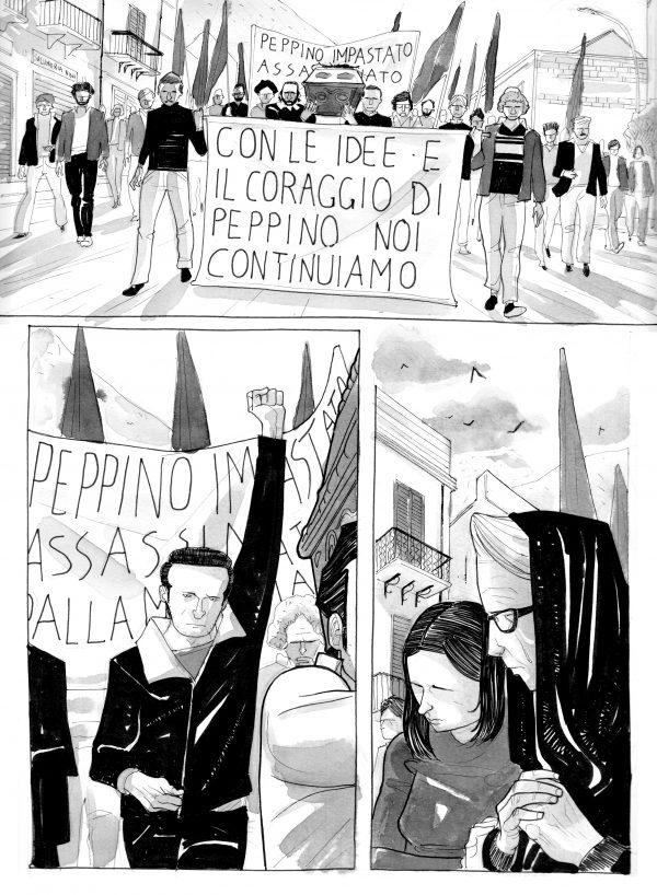 PEPPINO IMPASTATO_Pagina 064_prima edizione in bianco e nero (2009)