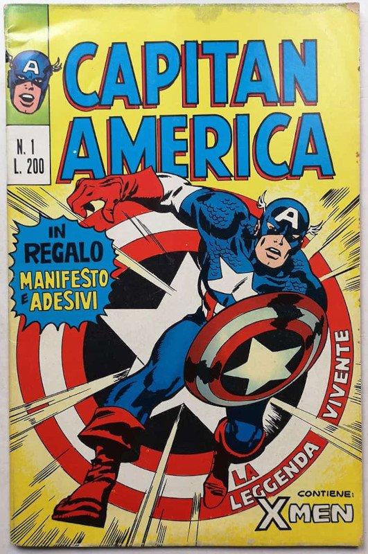 Capitan America n. 1 (1973) editoriale corno
