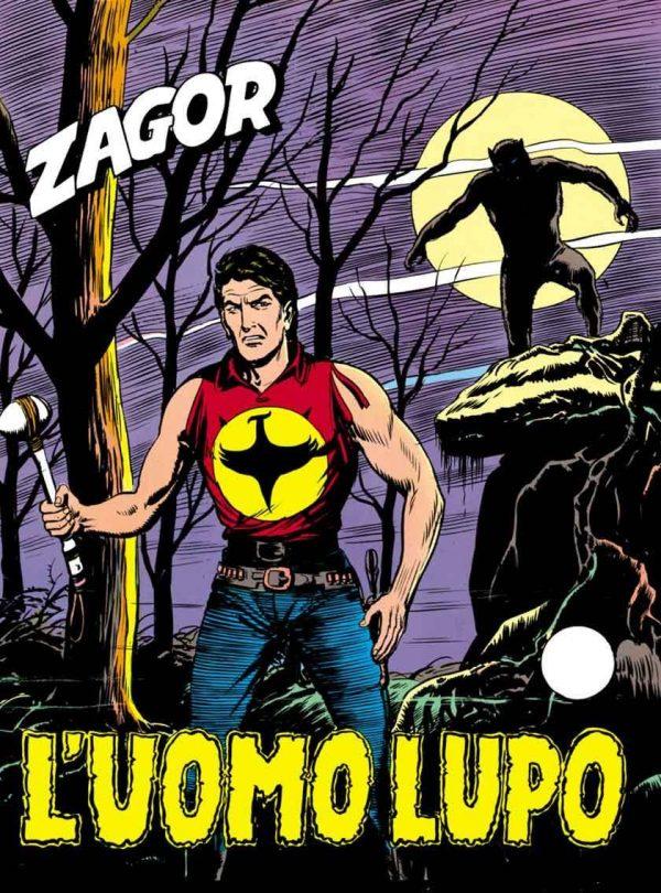 Copertina del n. 49 di Zagor: L'UOMO LUPO.