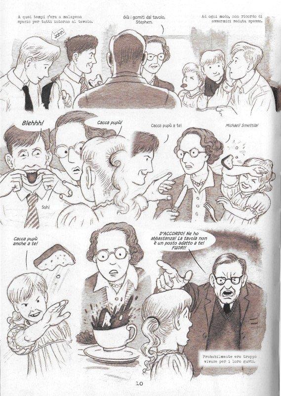 """Pagina 10 dell'edizione italiana di """"Dotter..."""" a confronto con l'edizione inglese (pagina 6)"""