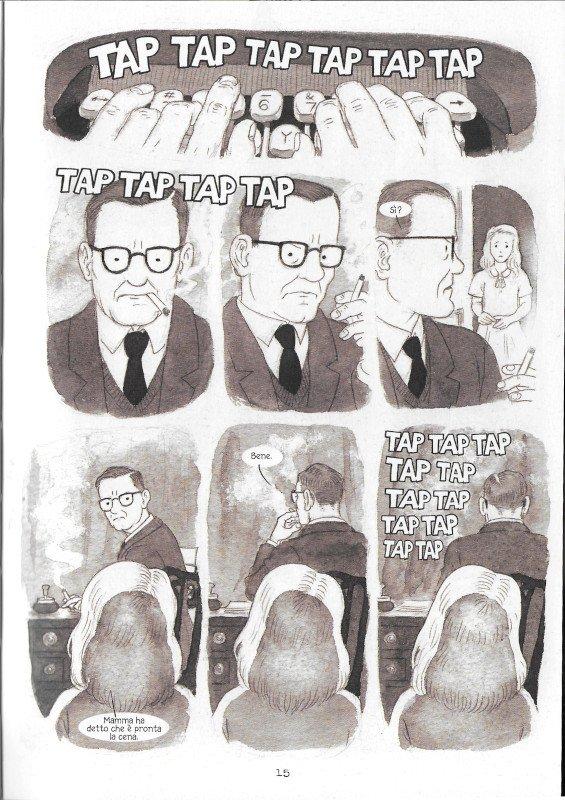"""Pagina 15 dell'edizione italiana di """"Dotter..."""" a confronto con l'edizione inglese (pagina 11)"""