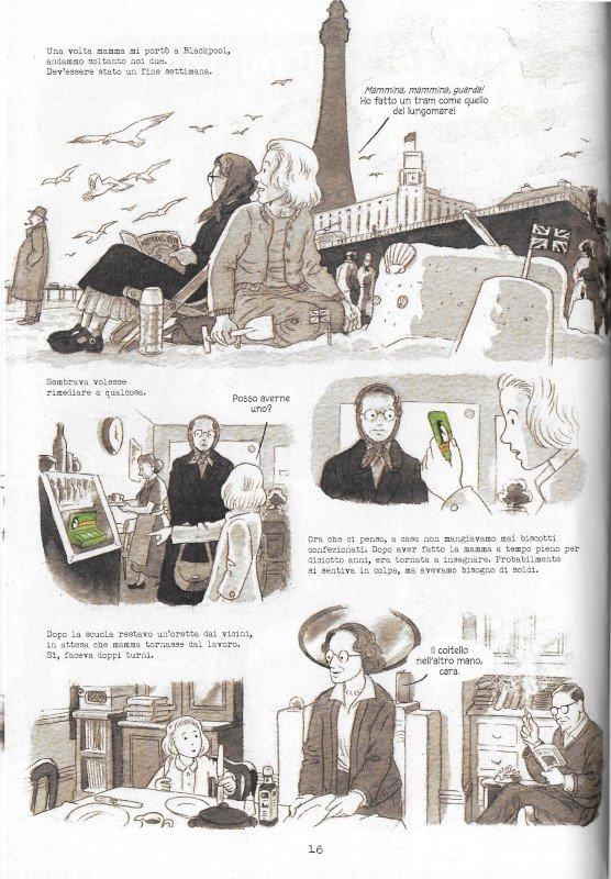 """Pagina 16 dell'edizione italiana di """"Dotter..."""" a confronto con l'edizione inglese (pagina 12)"""