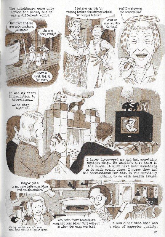 """Pagina 17 dell'edizione italiana di """"Dotter..."""" a confronto con l'edizione inglese (pagina 13)"""