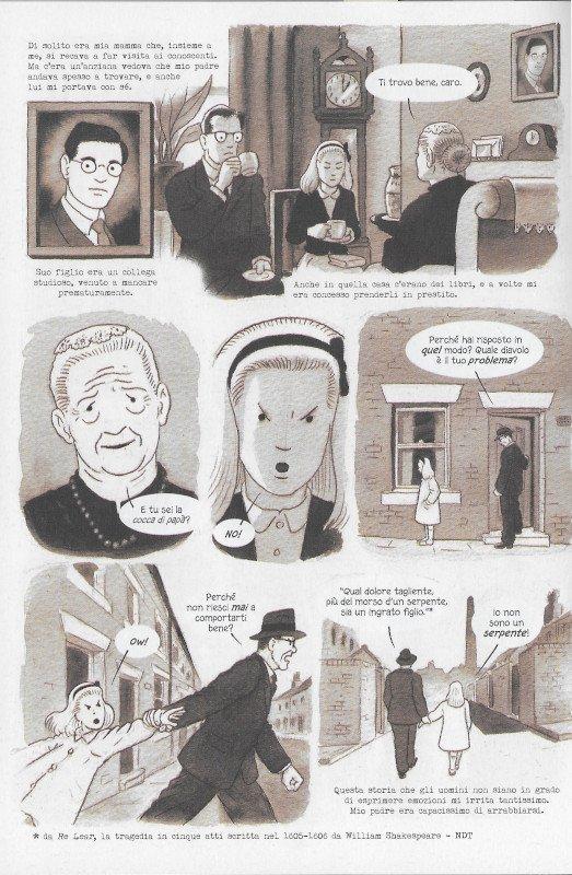 """Pagina 34 dell'edizione italiana di """"Dotter..."""" a confronto con l'edizione inglese (pagina 30)"""