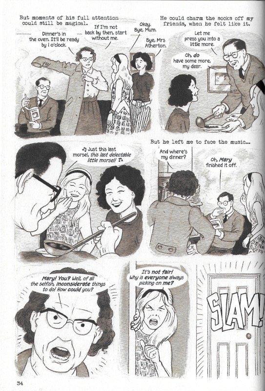 """Pagina 38 dell'edizione italiana di """"Dotter..."""" a confronto con l'edizione inglese (pagina 34)"""