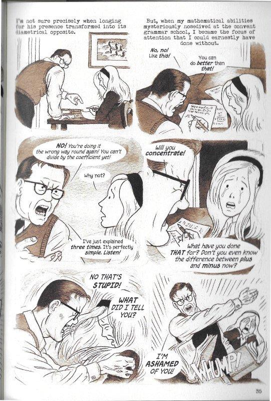 """Pagina 39 dell'edizione italiana di """"Dotter..."""" a confronto con l'edizione inglese (pagina 35"""