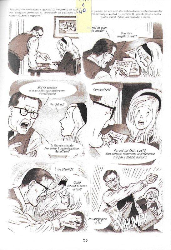"""Pagina 39 dell'edizione italiana di """"Dotter..."""" a confronto con l'edizione inglese (pagina 35)"""