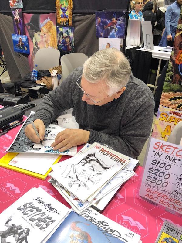 Bob McLeod, firma il Poster di Spderman #700