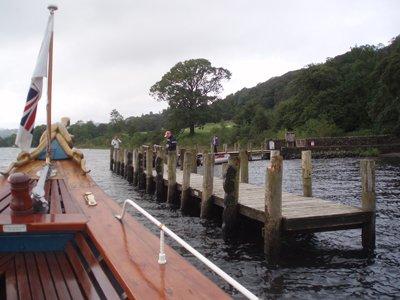 Questo molo è ispirato da uno realmente esistente al Lago Coniston.