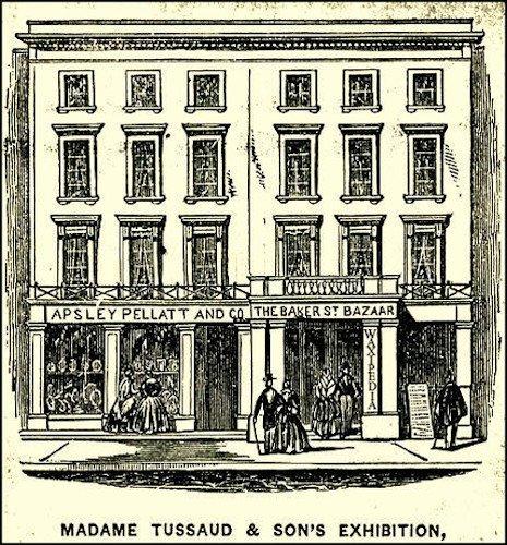 Il famoso museo delle cere di Madame Tussaud (adesso scritto Tussauds) fu in origine ospitato in questo edificio, il Bazaar di Baker Street, prima che si spostasse in via definitiva dietro l'angolo.