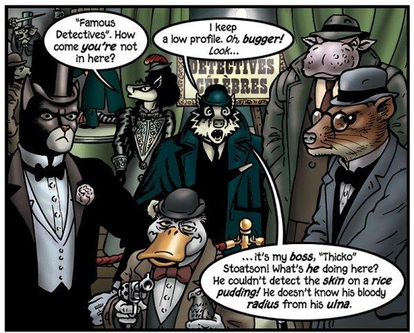 """""""Detective Famosi"""" : a parte il DCI Stoatson, un personaggio nella storia, questi sono..."""