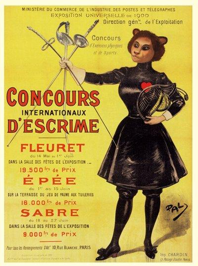 Questo poster sul muro dall'altra parte della strada furono adattati dall'originale francese da Angus McKie.