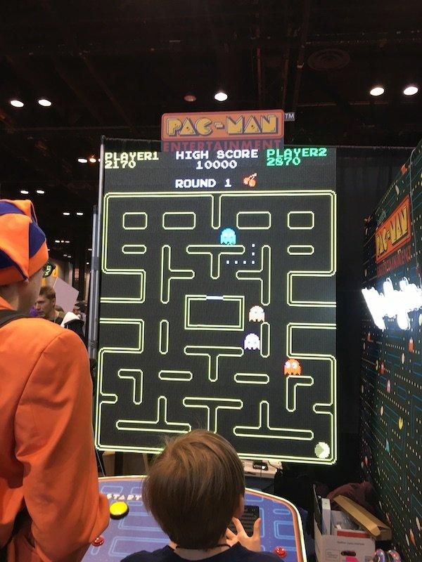 Qui si giocava a Pac-Man