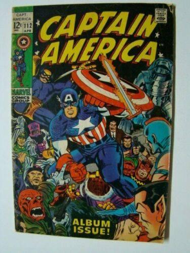 CAPTAIN AMERICA 112 - cover