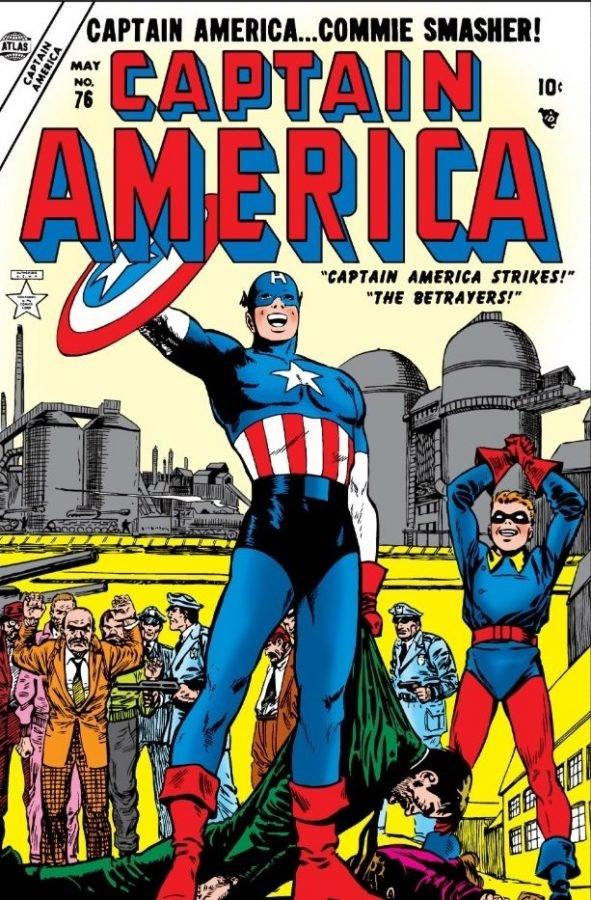 Captain America #76, in versione spacca-comunisti